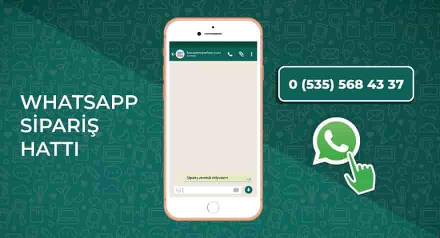 whatsapp sıpariş hattı
