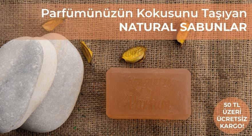 parfumunuzun kokusunu taşıyan natural sabunlar