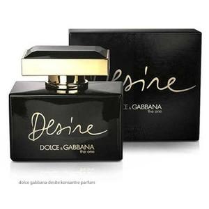 Dolce Gabbana - DOLCE GABBANA THE ONE DESIRE